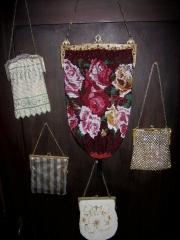 beaded handbag collection