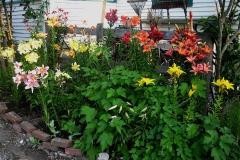garden vignette lily garden