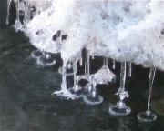 ice bells, closeup